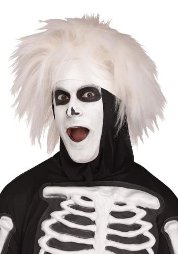 Adults Beat 男の子 Skeleton ウィッグ クリスマス ハロウィン コスプレ 衣装 仮装 小道具 おもしろい イベント パーティ ハロウィーン 学芸会