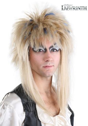 Jareth Men's ウィッグ from Labyrinth ハロウィン コスプレ 衣装 仮装 小道具 おもしろい イベント パーティ ハロウィーン 学芸会