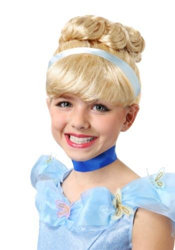 Girls Cinderella ウィッグ クリスマス ハロウィン コスプレ 衣装 仮装 小道具 おもしろい イベント パーティ ハロウィーン 学芸会