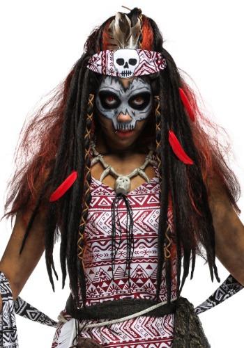 Voodoo Witch Women's ウィッグ ハロウィン コスプレ 衣装 仮装 小道具 おもしろい イベント パーティ ハロウィーン 学芸会