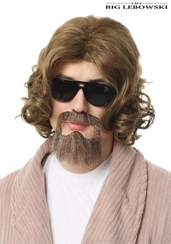 Big Lebowski 大人用 The Dude ウィッグ and Beard Kit ハロウィン コスプレ 衣装 仮装 小道具 おもしろい イベント パーティ ハロウィーン 学芸会