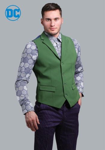 THE ジョーカー Slim Fit Suit ベスト (Authentic) ハロウィン コスプレ 衣装 仮装 小道具 おもしろい イベント パーティ ハロウィーン 学芸会