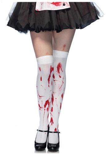 Bloody Thigh High Stockings クリスマス ハロウィン コスプレ 衣装 仮装 小道具 おもしろい イベント パーティ ハロウィーン 学芸会