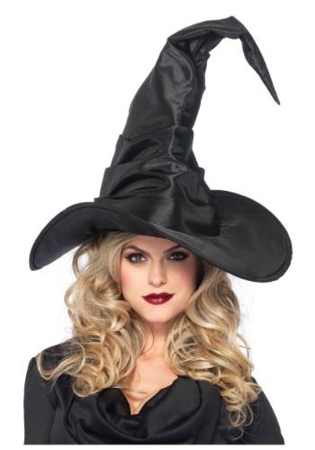 Large Ruched Witch 帽子 ハット ハロウィン コスプレ 衣装 仮装 小道具 おもしろい イベント パーティ ハロウィーン 学芸会