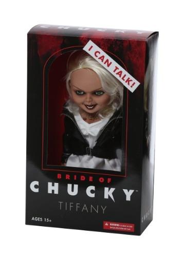 "Bride of Chucky Tiffany 15\"" Talking Doll ハロウィン コスプレ 衣装 仮装 小道具 おもしろい イベント パーティ ハロウィーン 学芸会"