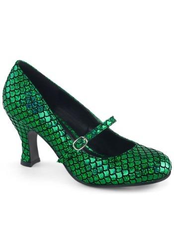 Green マーメイド 人魚 Heels for Women ハロウィン コスプレ 衣装 仮装 小道具 おもしろい イベント パーティ ハロウィーン 学芸会