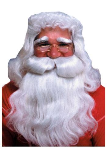 Straight Santa ウィッグ and Beard ハロウィン コスプレ 衣装 仮装 小道具 おもしろい イベント パーティ ハロウィーン 学芸会