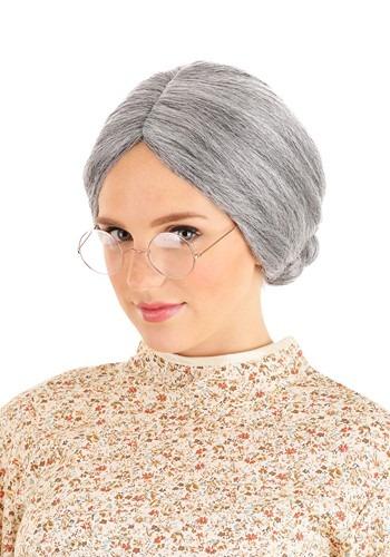 Grey Old Lady ウィッグ クリスマス ハロウィン コスプレ 衣装 仮装 小道具 おもしろい イベント パーティ ハロウィーン 学芸会