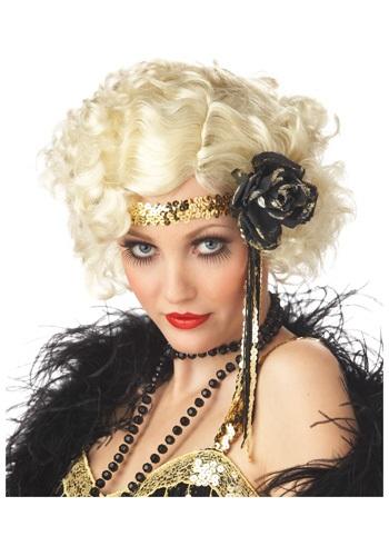 Jazz ウィッグ - Blonde クリスマス ハロウィン コスプレ 衣装 仮装 小道具 おもしろい イベント パーティ ハロウィーン 学芸会