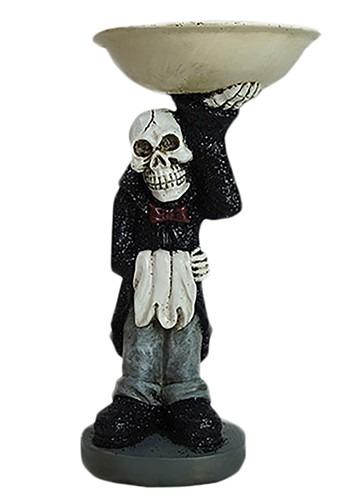 Skeleton Butler Resin Treat Bowl Halloween Decoration クリスマス ハロウィン コスプレ 衣装 仮装 小道具 おもしろい イベント パーティ ハロウィーン 学芸会
