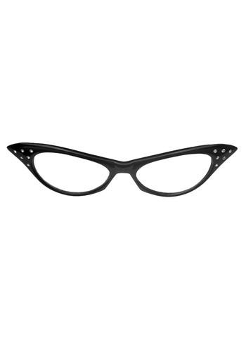 1950年代 ブラック Frame 眼鏡 クリスマス ハロウィン コスプレ 衣装 仮装 小道具 おもしろい イベント パーティ ハロウィーン 学芸会