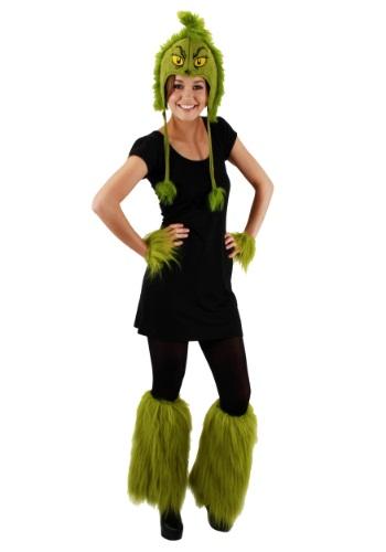 Grinch Fuzzy Leg Warmers ハロウィン コスプレ 衣装 仮装 小道具 おもしろい イベント パーティ ハロウィーン 学芸会