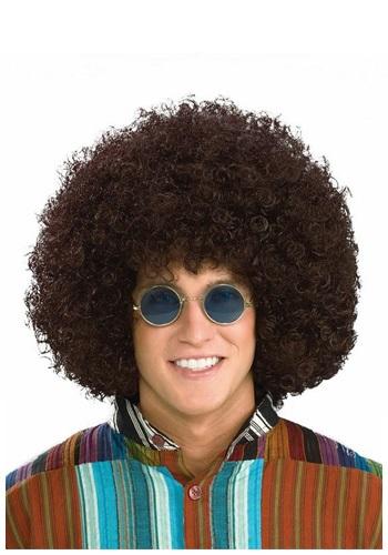 Hippie Retro Afro ウィッグ クリスマス ハロウィン コスプレ 衣装 仮装 小道具 おもしろい イベント パーティ ハロウィーン 学芸会