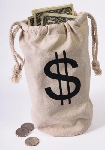 Bank Money Bag クリスマス ハロウィン コスプレ 衣装 仮装 小道具 おもしろい イベント パーティ ハロウィーン 学芸会