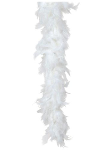ホワイト 80 Gram Feather Boa クリスマス ハロウィン コスプレ 衣装 仮装 小道具 おもしろい イベント パーティ ハロウィーン 学芸会