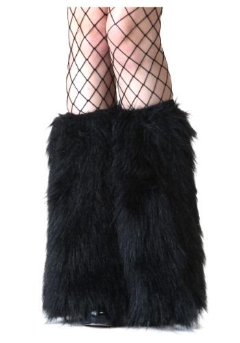 大人用 ブラック Furry Boot Covers クリスマス ハロウィン コスプレ 衣装 仮装 小道具 おもしろい イベント パーティ ハロウィーン 学芸会