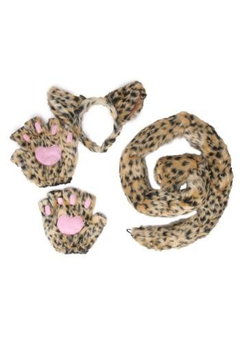 デラックス Leopard Kit ハロウィン コスプレ 衣装 仮装 小道具 おもしろい イベント パーティ ハロウィーン 学芸会