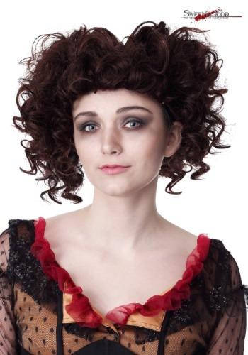 Sweeney Todd's Mrs. Lovett ウィッグ クリスマス ハロウィン コスプレ 衣装 仮装 小道具 おもしろい イベント パーティ ハロウィーン 学芸会