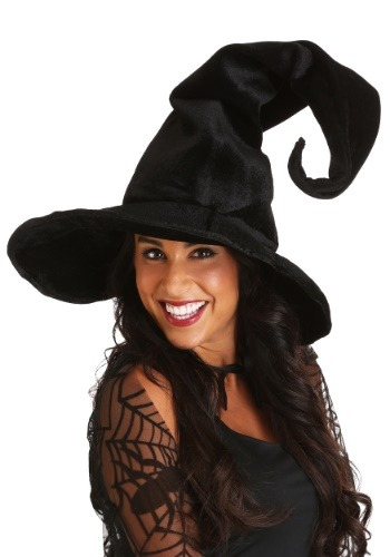 Witch 帽子 ハット デラックス クリスマス ハロウィン コスプレ 衣装 仮装 小道具 おもしろい イベント パーティ ハロウィーン 学芸会