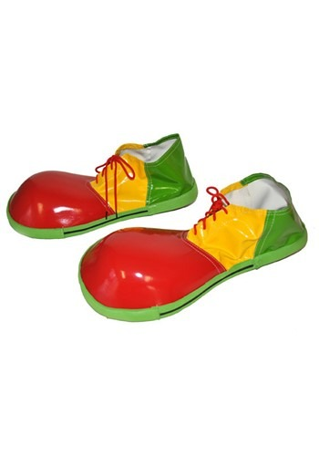 Jumbo ピエロ シューズ 靴 ハロウィン コスプレ 衣装 仮装 小道具 おもしろい イベント パーティ ハロウィーン 学芸会