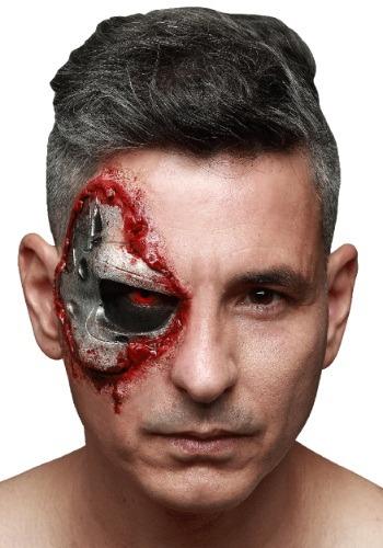 Terminator Endoskull Latex Appliance ハロウィン コスプレ 衣装 仮装 小道具 おもしろい イベント パーティ ハロウィーン 学芸会