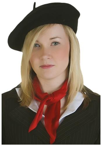 ブラック Beret 帽子 ハット クリスマス ハロウィン コスプレ 衣装 仮装 小道具 おもしろい イベント パーティ ハロウィーン 学芸会