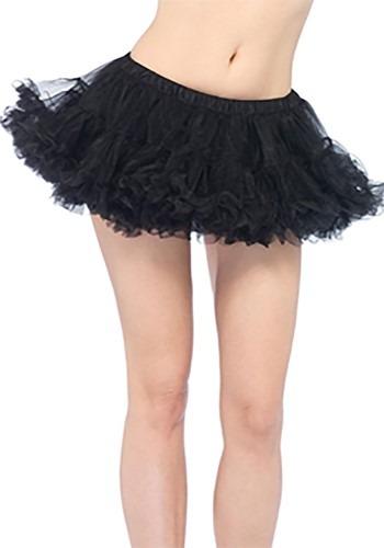 Women's Puffy ブラック Chiffon Petticoat クリスマス ハロウィン コスプレ 衣装 仮装 小道具 おもしろい イベント パーティ ハロウィーン 学芸会