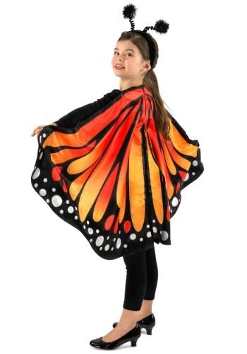 キッズ Monarch Butterfly マント ケープ ハロウィン コスプレ 衣装 仮装 小道具 おもしろい イベント パーティ ハロウィーン 学芸会