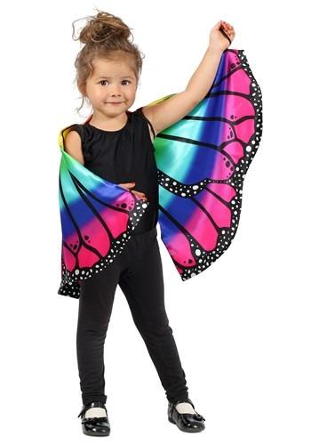 キッズ Rainbow Butterfly マント ケープ アクセサリー クリスマス ハロウィン コスプレ 衣装 仮装 小道具 おもしろい イベント パーティ ハロウィーン 学芸会