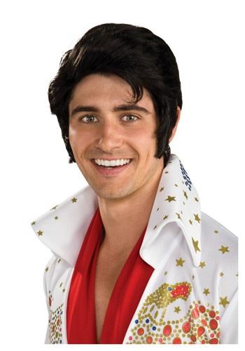 Elvis ウィッグ クリスマス ハロウィン コスプレ 衣装 仮装 小道具 おもしろい イベント パーティ ハロウィーン 学芸会