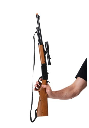Lever Action Repeater Rifle with Scope Toy Weapon クリスマス ハロウィン コスプレ 衣装 仮装 小道具 おもしろい イベント パーティ ハロウィーン 学芸会