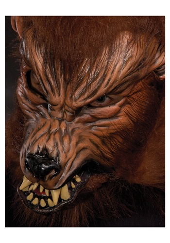 Howl O Ween Werewolf マスク ハロウィン コスプレ 衣装 仮装 小道具 おもしろい イベント パーティ ハロウィーン 学芸会