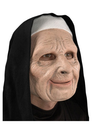 The Town Scary Nun マスク ハロウィン コスプレ 衣装 仮装 小道具 おもしろい イベント パーティ ハロウィーン 学芸会