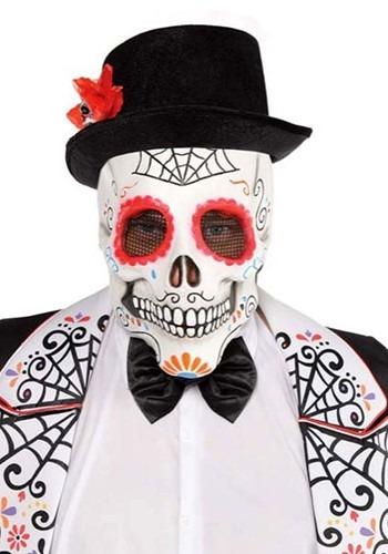 Mens Day of the Dead マスク ハロウィン コスプレ 衣装 仮装 小道具 おもしろい イベント パーティ ハロウィーン 学芸会