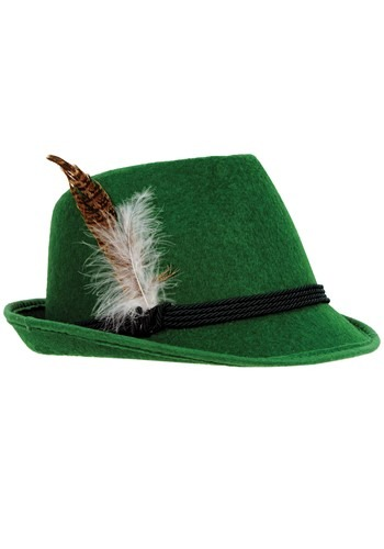 デラックス Green German 帽子 ハット クリスマス ハロウィン コスプレ 衣装 仮装 小道具 おもしろい イベント パーティ ハロウィーン 学芸会