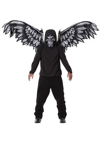 Fallen Angel マスク and 羽 ハロウィン コスプレ 衣装 仮装 小道具 おもしろい イベント パーティ ハロウィーン 学芸会
