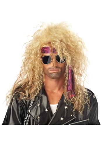 Blonde Heavy Metal ウィッグ クリスマス ハロウィン コスプレ 衣装 仮装 小道具 おもしろい イベント パーティ ハロウィーン 学芸会