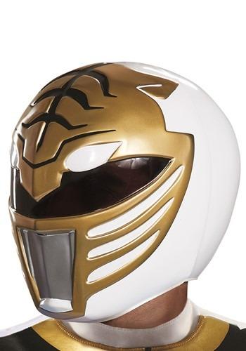 大人用 Power Rangers ホワイト Ranger Helmet ハロウィン コスプレ 衣装 仮装 小道具 おもしろい イベント パーティ ハロウィーン 学芸会
