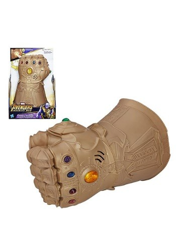 Avengers: Infinity War Infinity Gauntlet Electronic Fist ハロウィン コスプレ 衣装 仮装 小道具 おもしろい イベント パーティ ハロウィーン 学芸会
