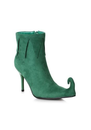 Women's Green Elf ブーツ ハロウィン コスプレ 衣装 仮装 小道具 おもしろい イベント パーティ ハロウィーン 学芸会