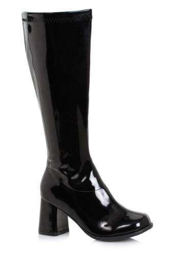 Women's ブラック Wide Width Gogo ブーツ ハロウィン コスプレ 衣装 仮装 小道具 おもしろい イベント パーティ ハロウィーン 学芸会
