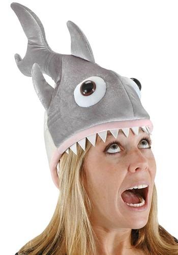 デラックス Shark 帽子 ハット ハロウィン コスプレ 衣装 仮装 小道具 おもしろい イベント パーティ ハロウィーン 学芸会