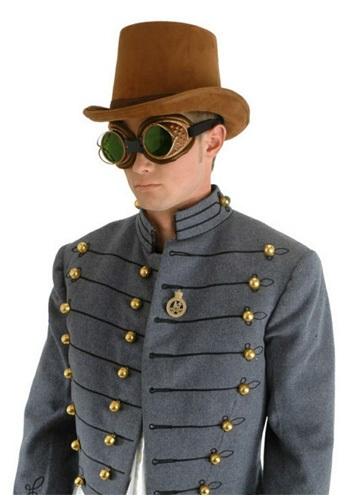 Brown Suede Coachman 帽子 ハット ハロウィン コスプレ 衣装 仮装 小道具 おもしろい イベント パーティ ハロウィーン 学芸会