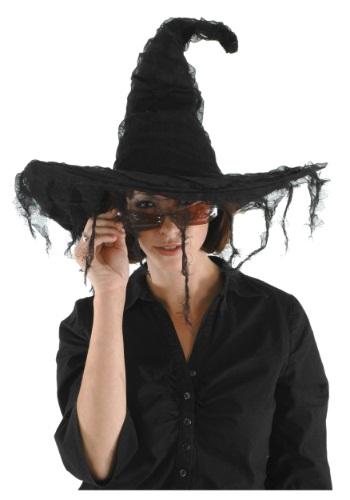 Grunge Witch ブラック 帽子 ハット クリスマス ハロウィン コスプレ 衣装 仮装 小道具 おもしろい イベント パーティ ハロウィーン 学芸会