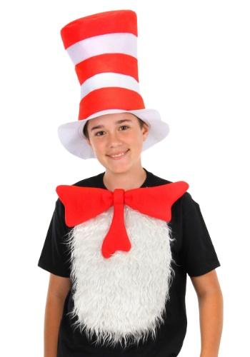 Kid Cat in the 帽子 ハット Insta-Tux Kit クリスマス ハロウィン コスプレ 衣装 仮装 小道具 おもしろい イベント パーティ ハロウィーン 学芸会