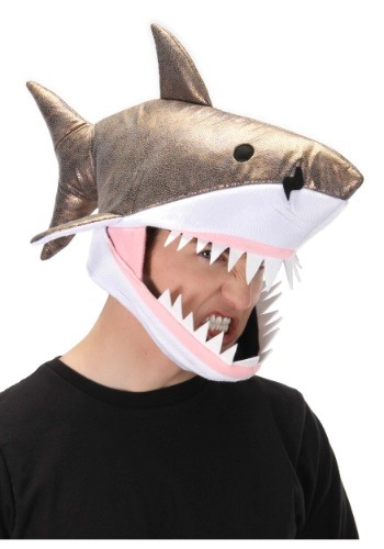 Great ホワイト Shark Jawesome 帽子 ハット ハロウィン コスプレ 衣装 仮装 小道具 おもしろい イベント パーティ ハロウィーン 学芸会
