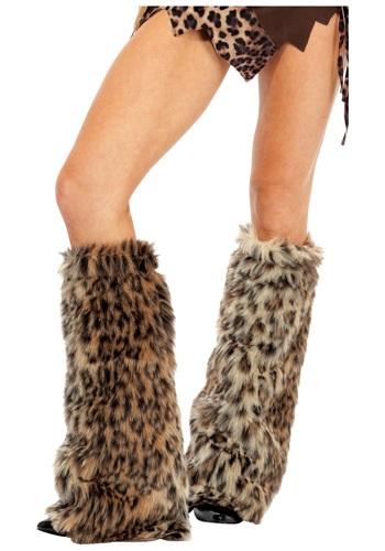 Animal Print Furry Leg Warmers ハロウィン コスプレ 衣装 仮装 小道具 おもしろい イベント パーティ ハロウィーン 学芸会