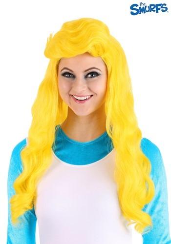 The Smurfs Women's Smurfette ウィッグ ハロウィン コスプレ 衣装 仮装 小道具 おもしろい イベント パーティ ハロウィーン 学芸会