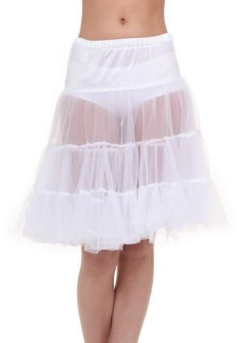 大人用 ホワイト Knee Length Crinoline クリスマス ハロウィン コスプレ 衣装 仮装 小道具 おもしろい イベント パーティ ハロウィーン 学芸会
