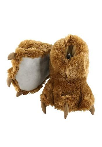 Brown Bear Paw Slippers for キッズ クリスマス ハロウィン コスプレ 衣装 仮装 小道具 おもしろい イベント パーティ ハロウィーン 学芸会